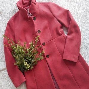 JCrew peacoat dress coat